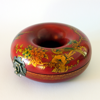 Bracelet Case, Red Bird