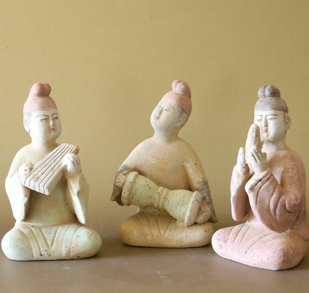 Seated Musicians Set #1, Set of 3