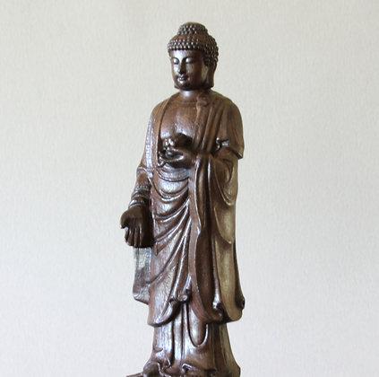 """Standing Buddha 10-1/2"""""""