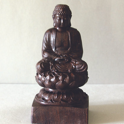 Seated Buddha on Lotus 6""