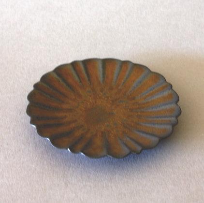 Ceramic Saucer, Chrysanthemum