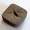 Thumbnail: Square Vase, Brown