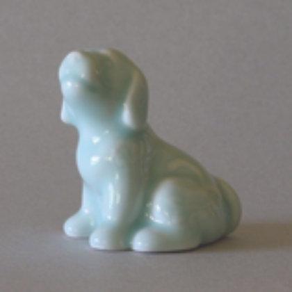 Celadon Dog Zodiac Figure