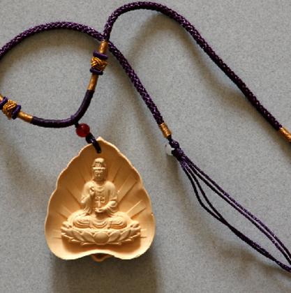 Kwan Yin Necklace (L)