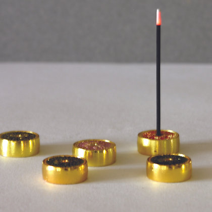 Cloissone Incense Stands - S/5