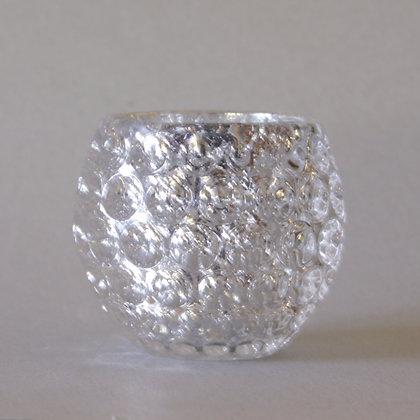 Tea Light Holder, Silver