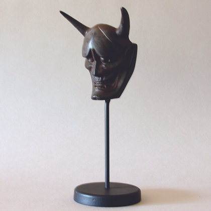 Hannya Demon Mask and Stand