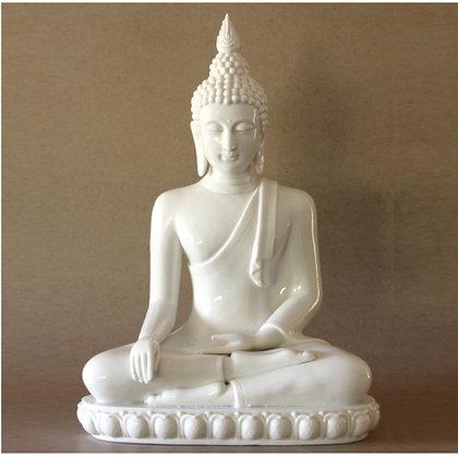 White Thai Buddha
