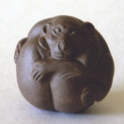 Clay Zodiac Ball - Monkey