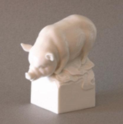 Pig Zodiac Figure