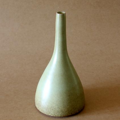 Green Vase #3, Tall