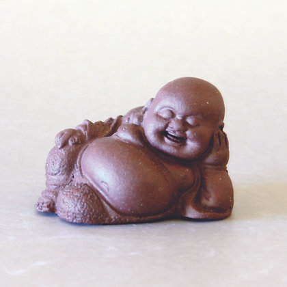 Small Clay Hotei 1-Reclining
