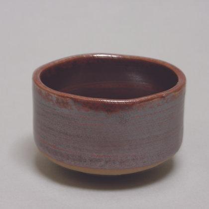 Matcha Bowl, Dark Red