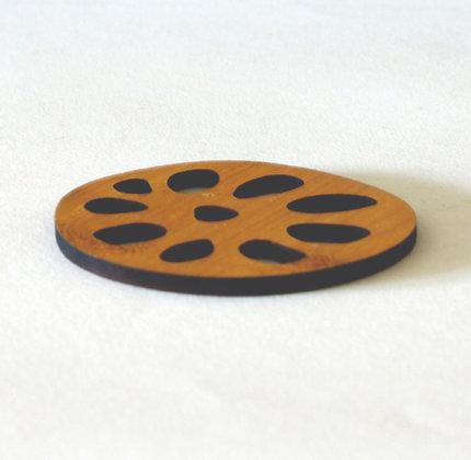Lotus Ring Coaster, Set of 4