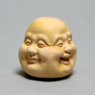 Hotei Head - Emotions (M), Boxwood