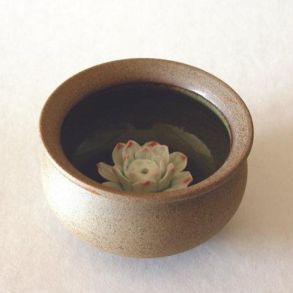 Lotus Flower Incense Bowl