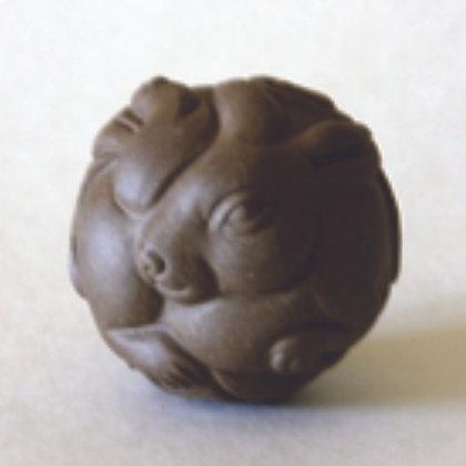 Clay Zodiac Ball - Rabbit
