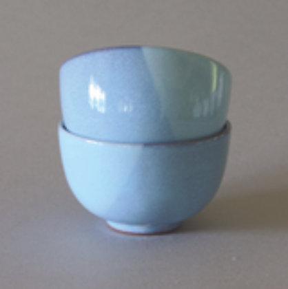 Kyoto Blue 2 Tones Cups, Set of 2