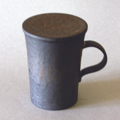 Tall Mug w/ Lid, Grey
