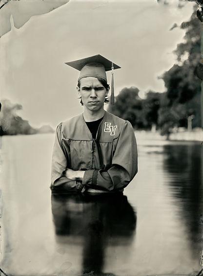 Graduate 2020 tintype