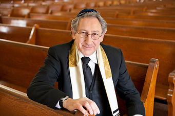 Rabbi Sitting in Synagogue