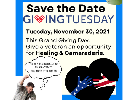GIVING TUESDAY is just around the corner. Are you GIVING BACK?