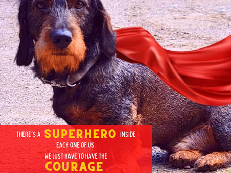 BE A SUPERHERO BY BEING YOU!