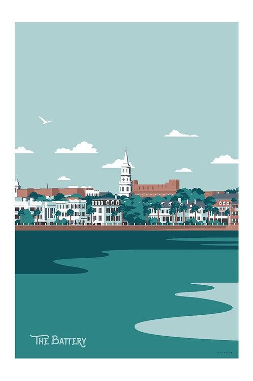 Charleston Battery Print
