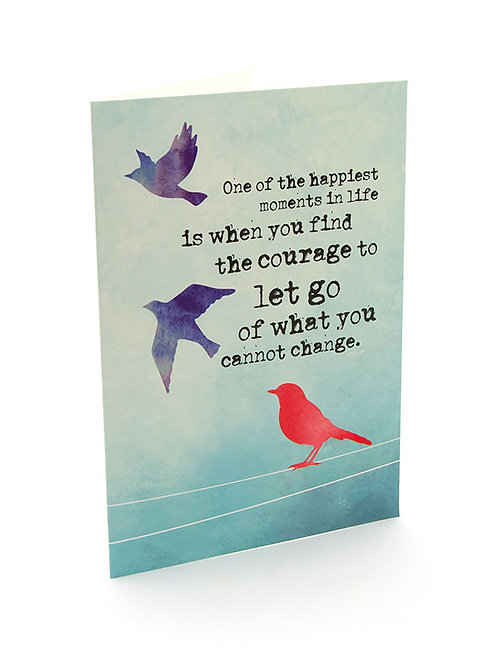 Mantra Card- Courage