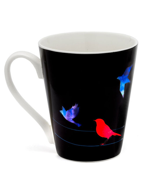 Color-changing Mantra Mug- Courage