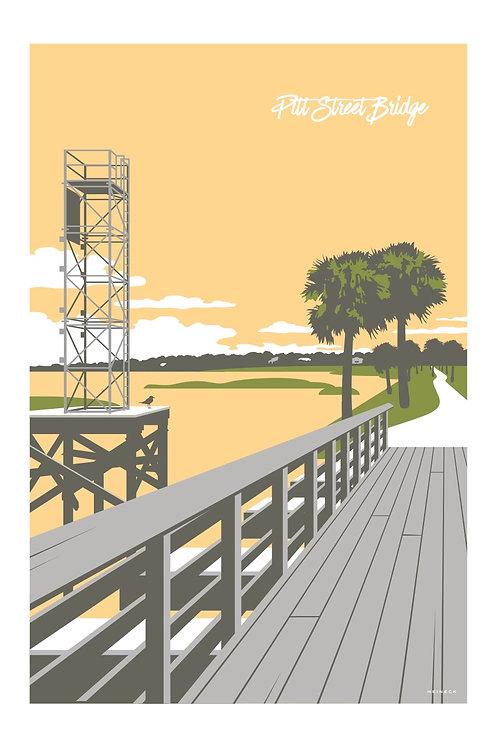 Pitt Street Bridge Print