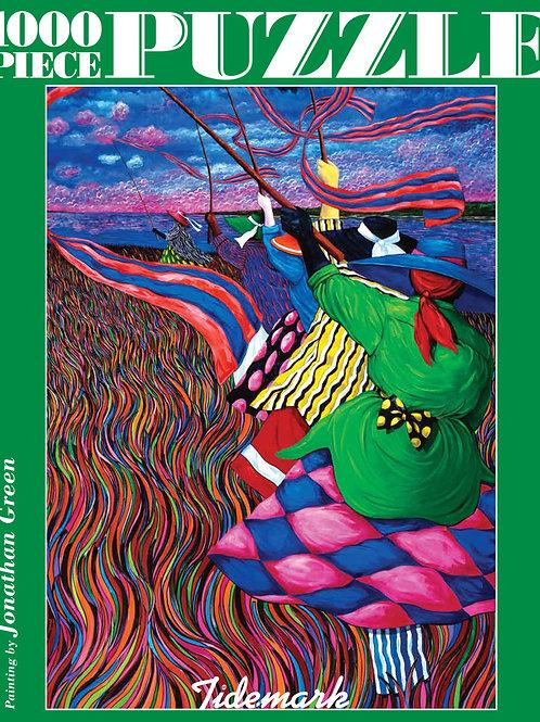 Jonathan Green Harvest Festival Jigsaw Puzzle