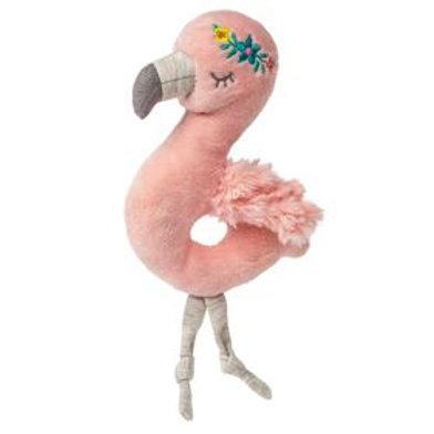 Tingo Flamingo Plush Rattle