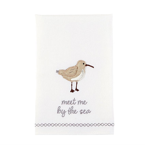 Meet me by the sea towel