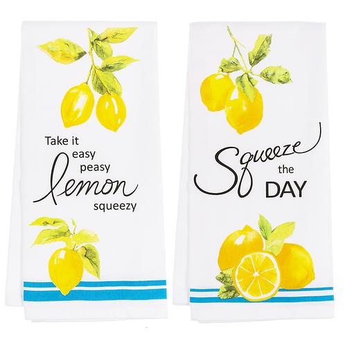 Lemon Dish Towels