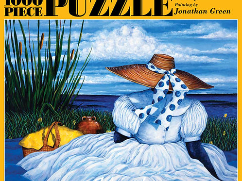 Jonathan Green Contemplation Jigsaw Puzzle