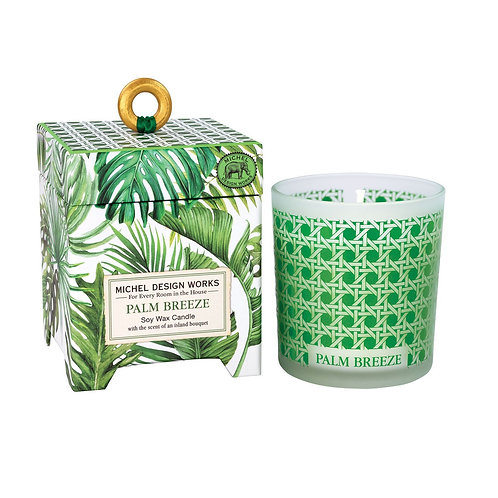Palm Breeze Soy Wax Candle