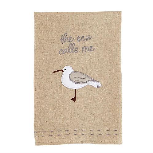 The sea calls me towel