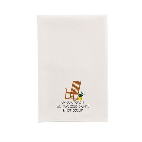 Hot Gossip Front Porch Dish Towel