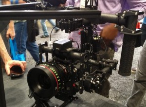 MOVI RIG mounted on Camera