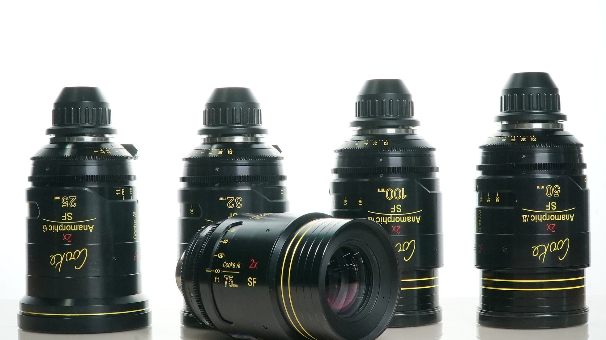 Cooke SF Anamorphic - 5 Lens Set