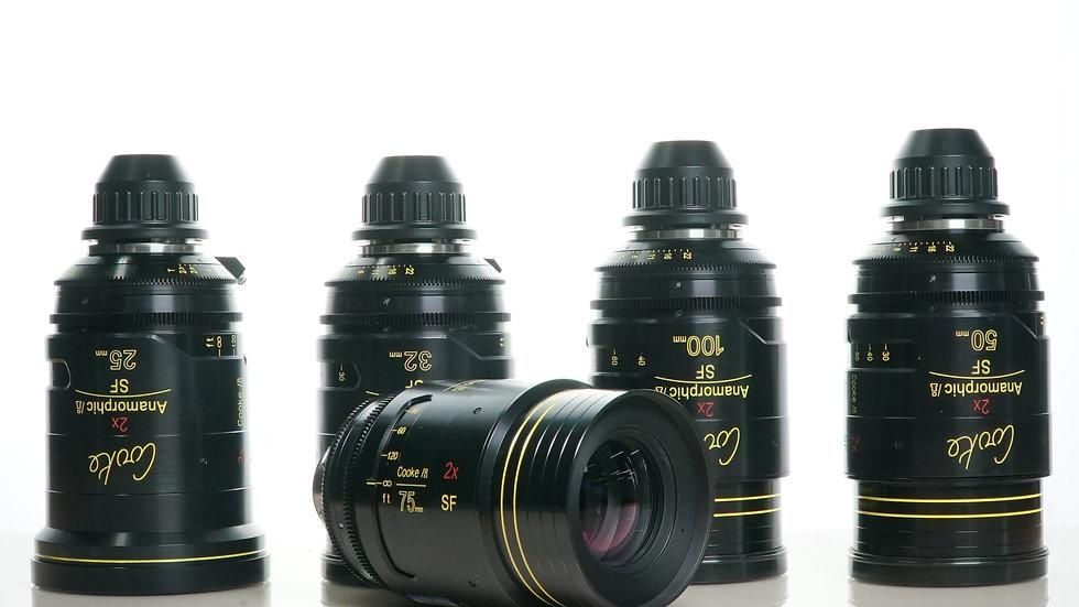 Cooke SF Anamorphic - 5 Lens Set