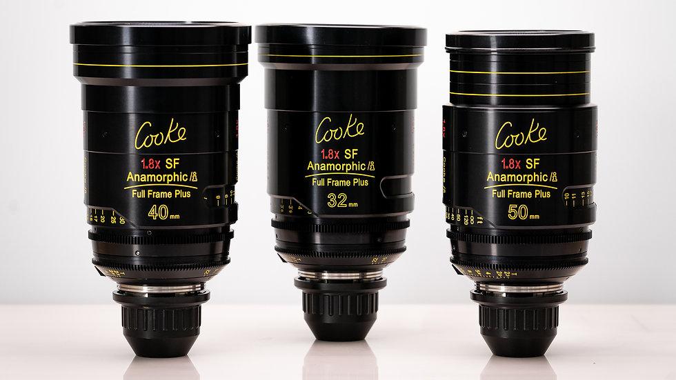 Cooke SF Full Frame Anamorphics - 3 Lens Kit