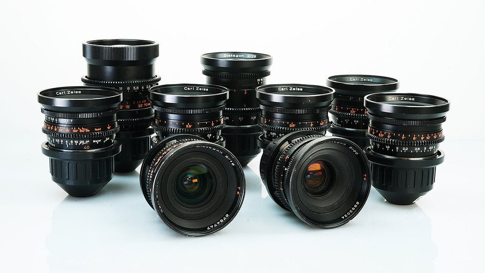 Zeiss Standard Speeds - 9 Lens Set