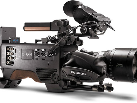 SNEAK PEAK AT THE NEW 4K CAMERA FROM AJA, THE CION
