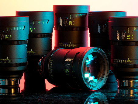 Arri Signature Primes 6 Lens Set- Now for rental in Los Angeles