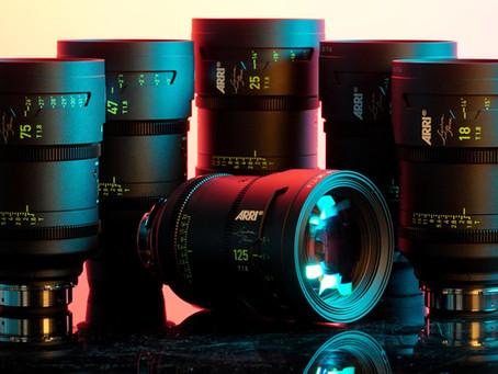 Arri Signature Primes 6 Lens Set- Now for rental in Los Angeles