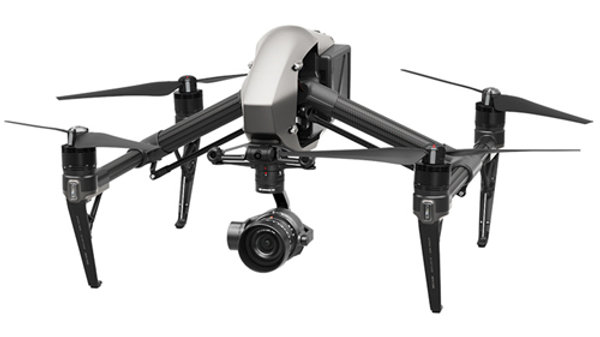 DJI Inspire 2 Quadcopter/Drone with 4K X5S MFT Camera & Olympus Lenses
