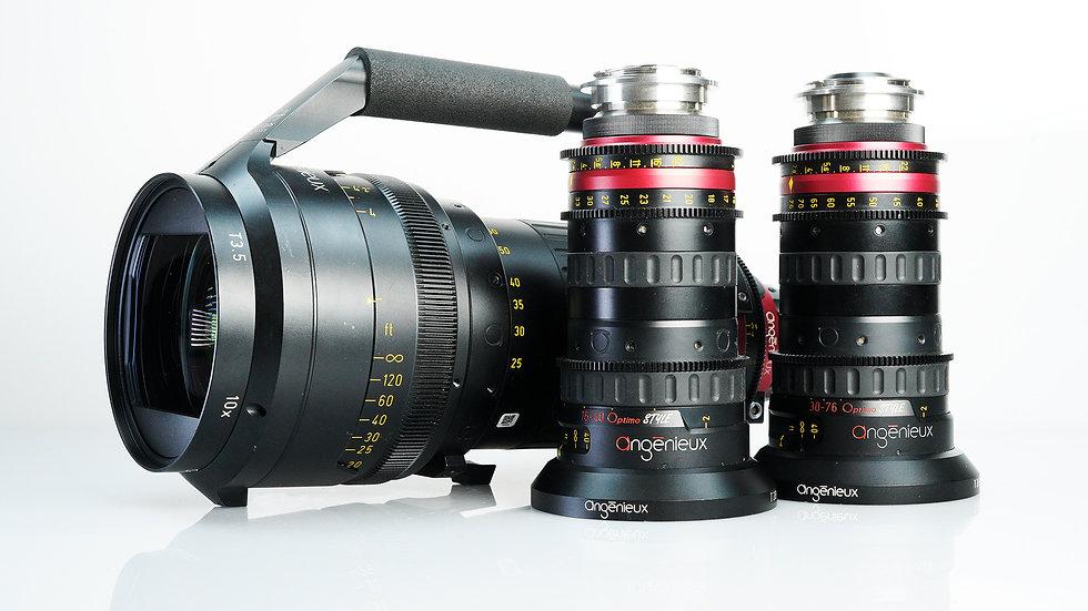 Angenieux 3-Lens Bundle