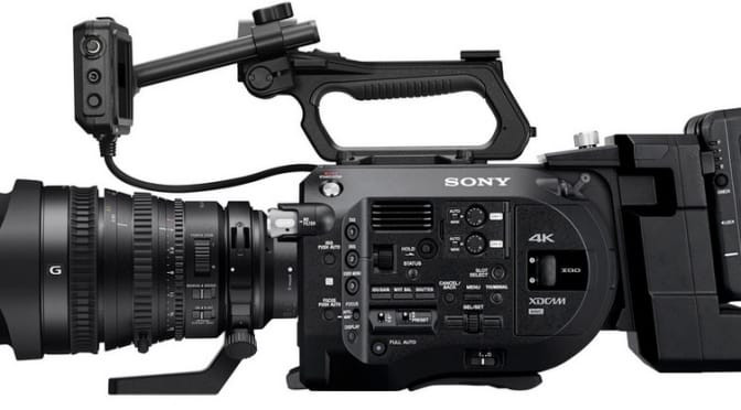 SONY PXW-F7 Camera Photo, side view